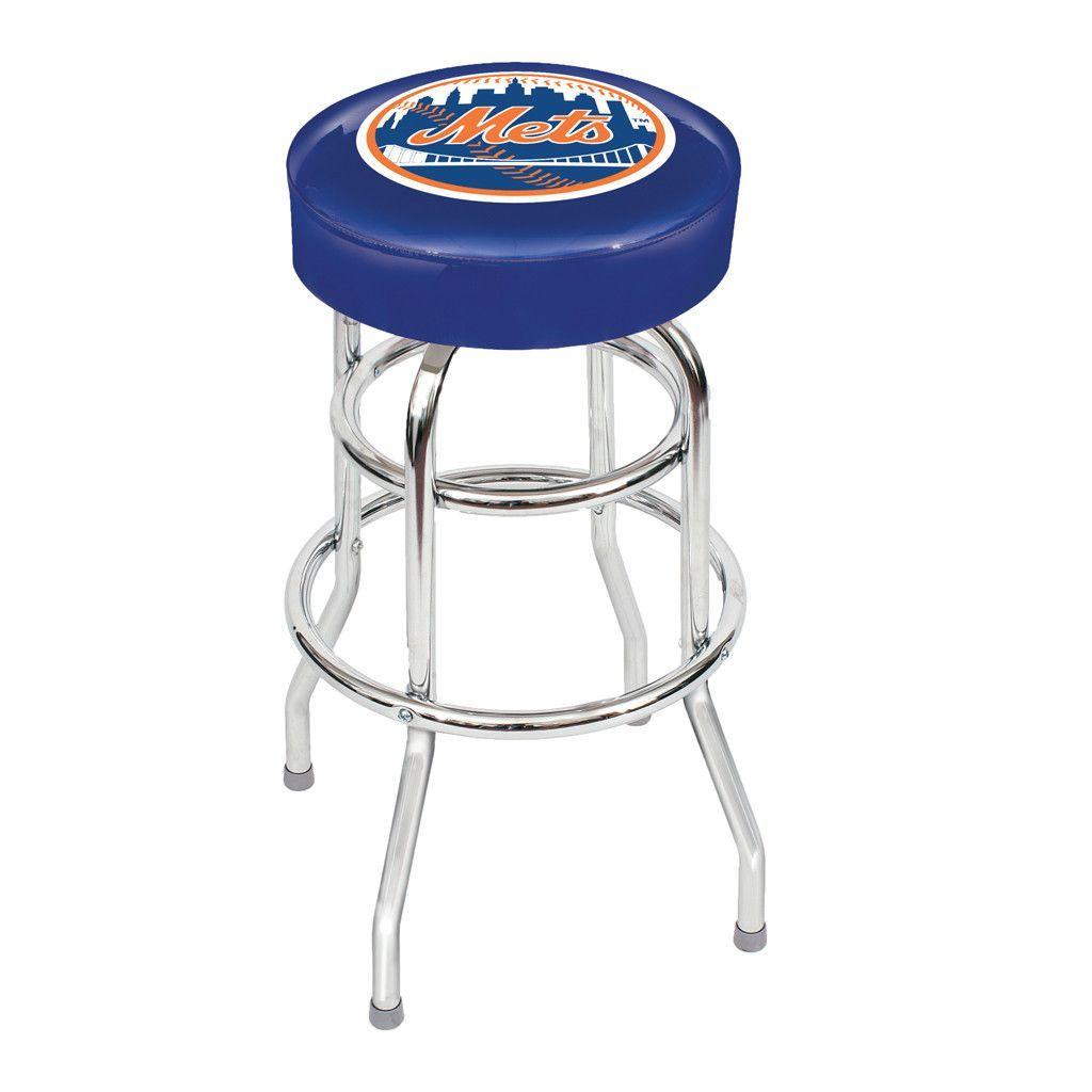 New York Mets Game Room Stool