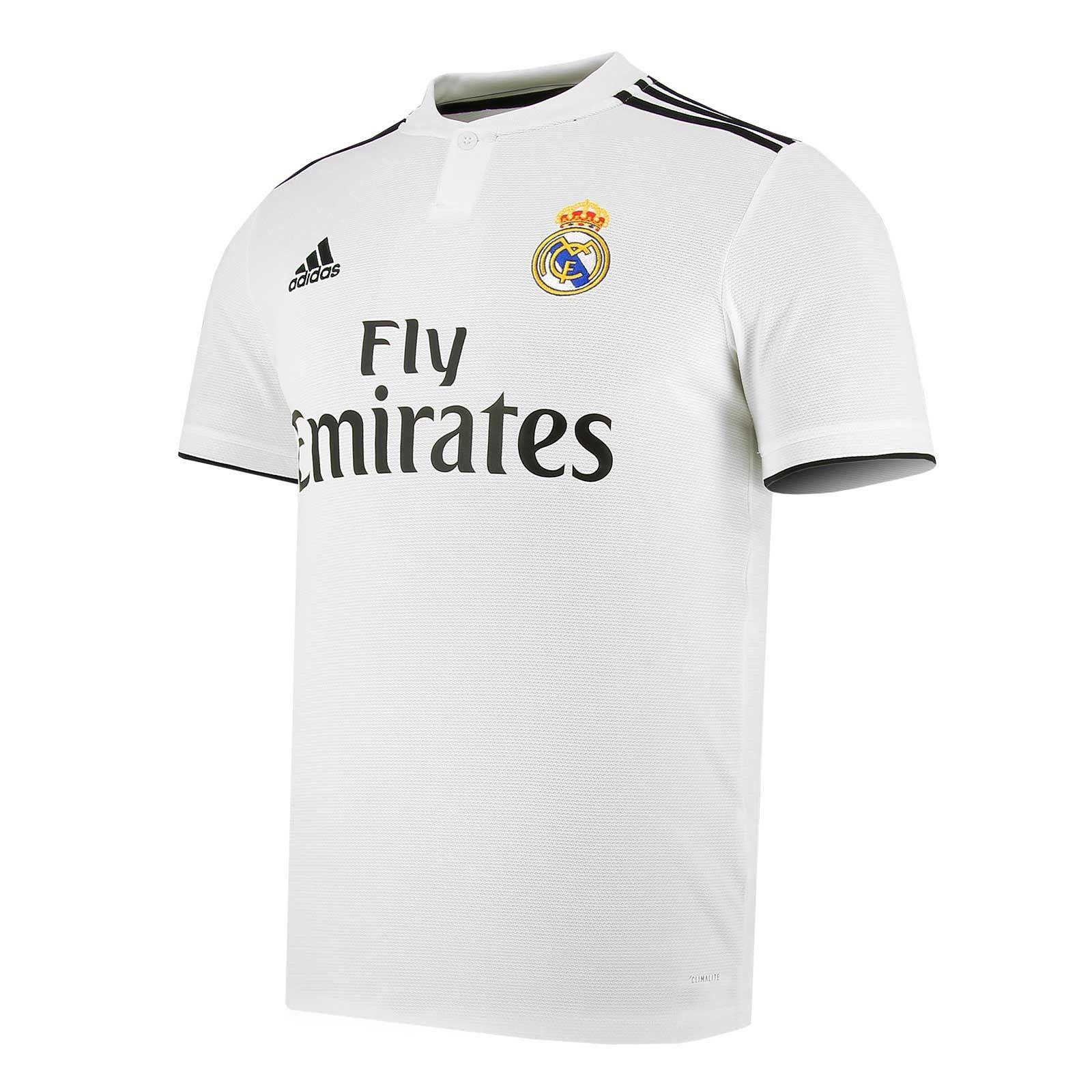 Camiseta Adidas 1a Real Madrid Lfp 18 2019 Camisetas Real Madrid Equipacion Real Madrid