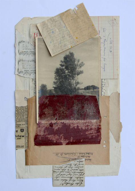 stremplerart: Collage UNTITLED 2015 W. Strempler #collageboard