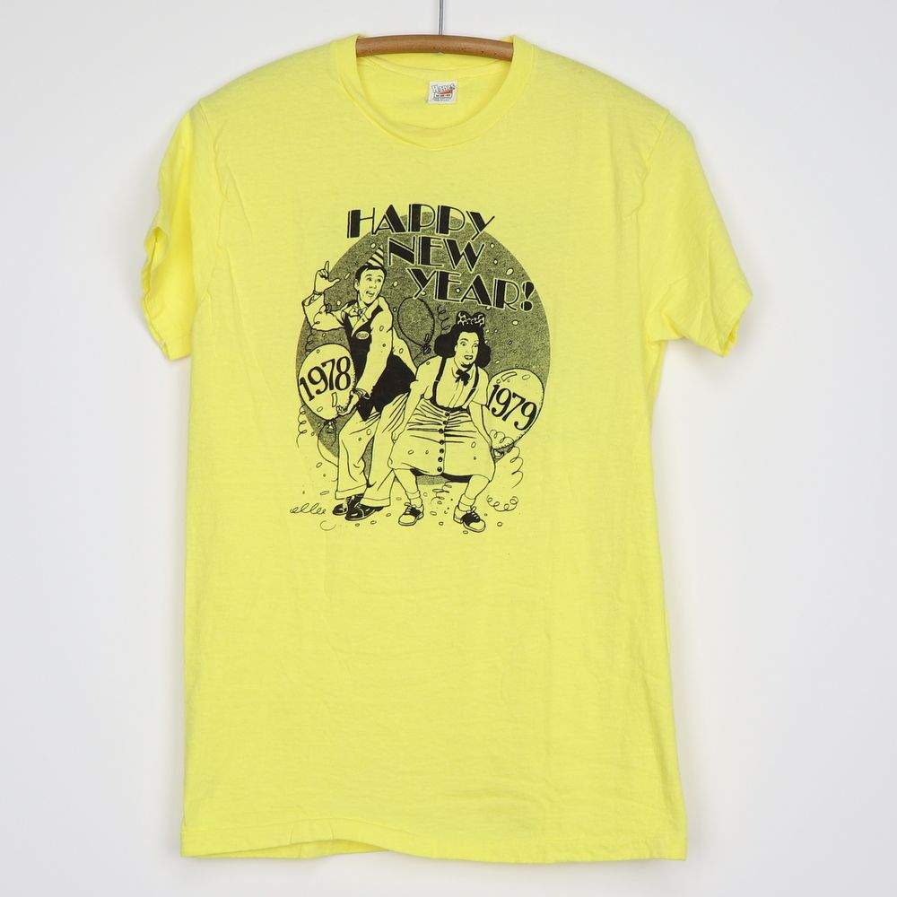 1978 Sammy Hagar Cow Palace New Years Eve Shirt In 2020 New Years Eve Shirt Sammy Hagar Vintage Shirts