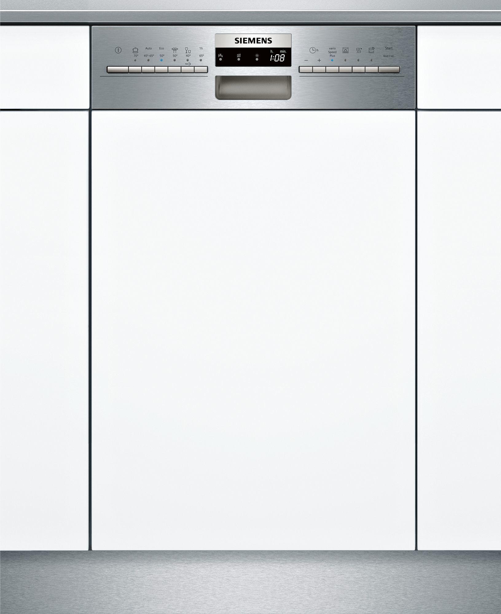 Buy Siemens Iq300 Sr536s07ie Dishwasher Semi Built In 9 Place