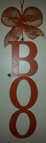 BOO Sign $15.00