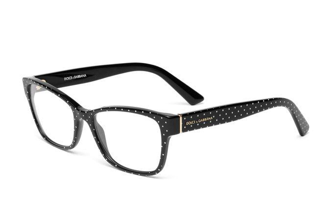 d123b19f2ef1 Women's eyeglasses polka dots acetate frame DG3274