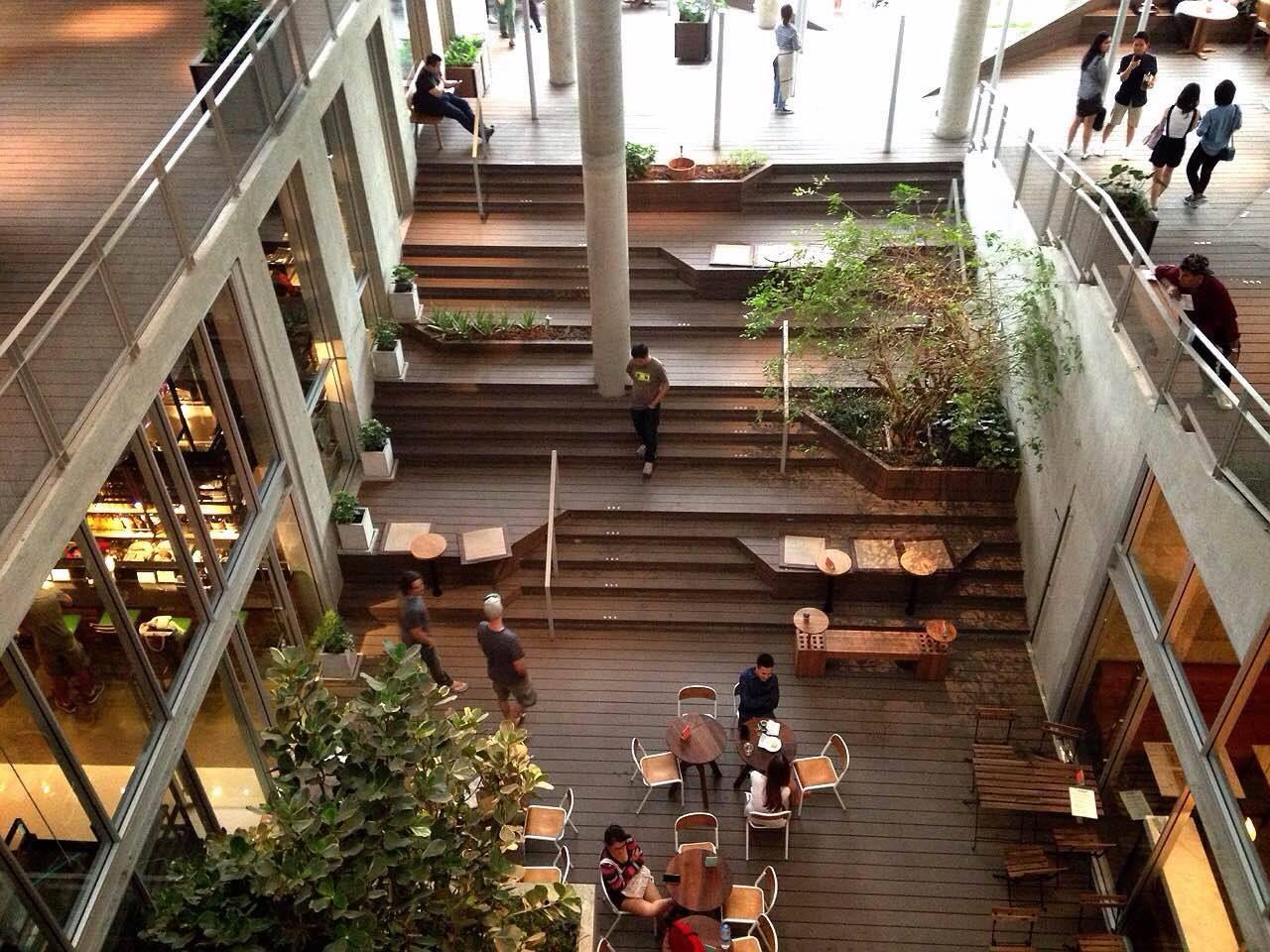 The commons bangkok cafe resto bistro etc pinterest for Bangkok architecture