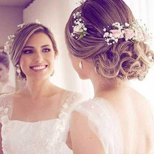Lange Hochzeit Hochsteckfrisuren Hochzeit