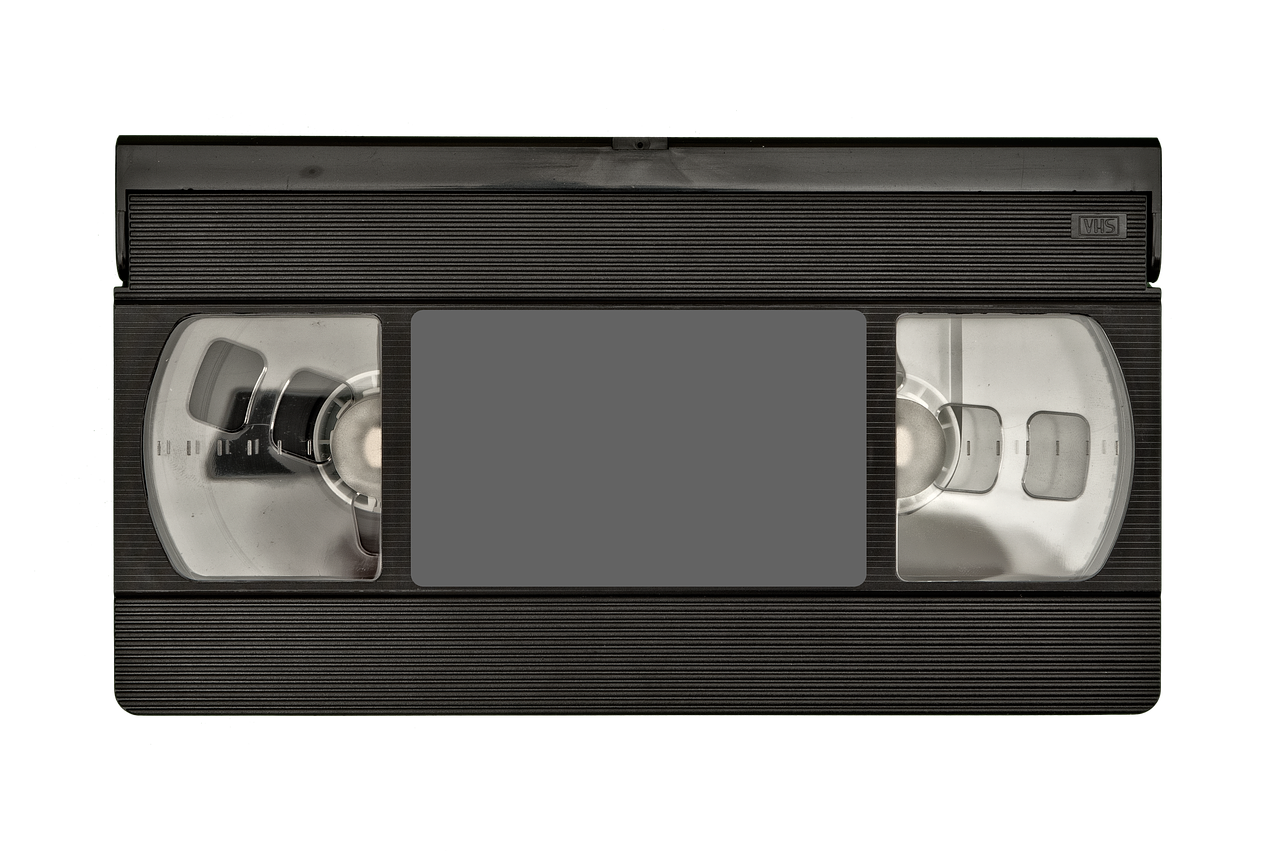 Vhs Tape Front Old Information White Background In 2020 Vhs Vhs Cassette Tape