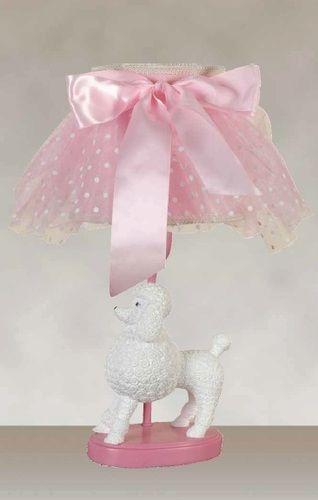 White & Pink Finish with a Pink Chiffon Softback Shade (2 Lamps), $113.89