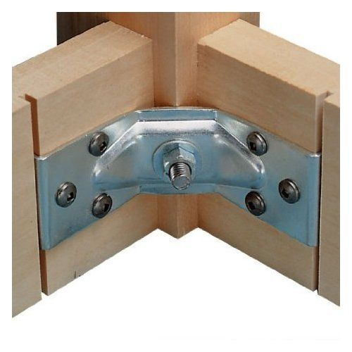 Surface Mount Corner Brackets For Table Aprons Table Legs