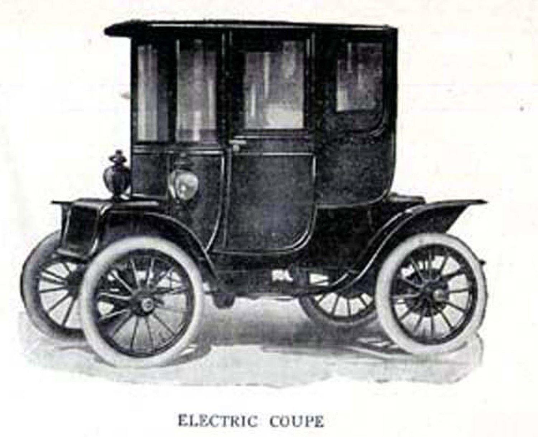 Electric Car Coupe Automobiles Edwardian Vintage Cars 1912 Etsy Vintage Cars Car Electric Car