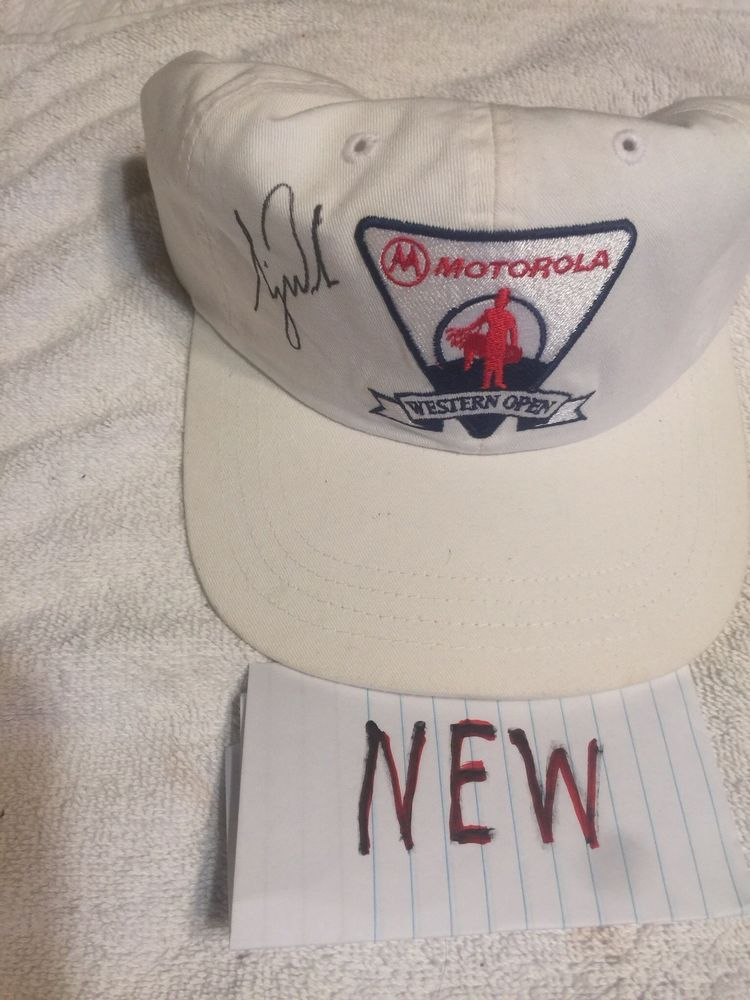 tiger woods autographed hat From The Motorola Western Opening At Cog Hil   fashion  clothing  shoes  accessories  mensaccessories  hats (ebay link) 8a31c04e057