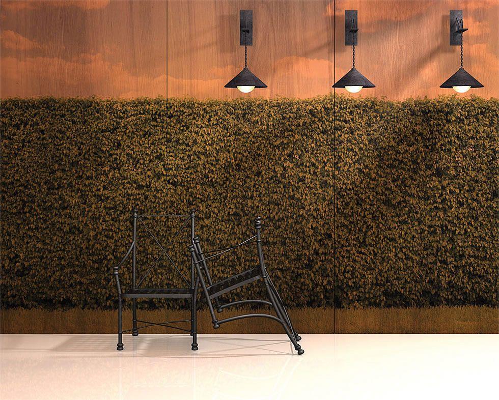 FAUX HEDGES B&N INFUSED VENEER Veneer panels, Wall