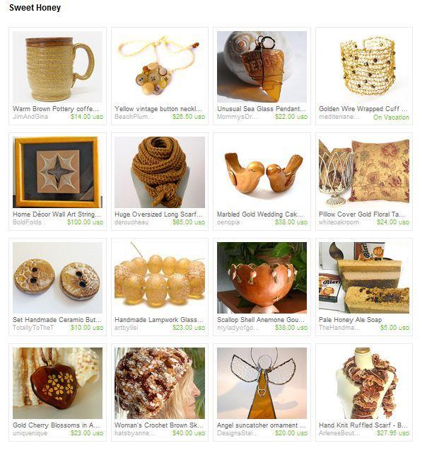 Sweet Honey by Tommye ~ http://www.etsy.com/shop/TJBdesigns