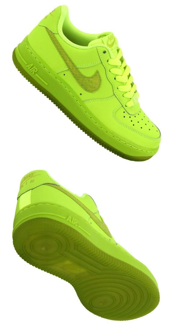 Nike Air Force 1 Low GS Volt