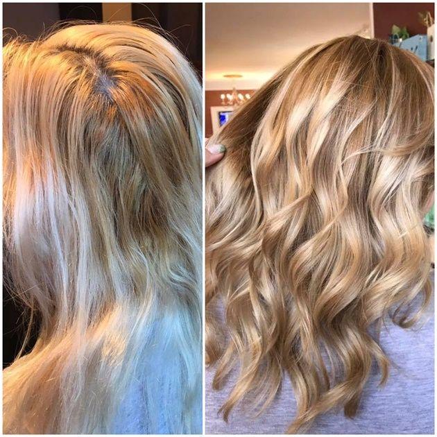 CORRECTION: Broken and Fragile To Tasteful Melt - Hair Color | Hair ...