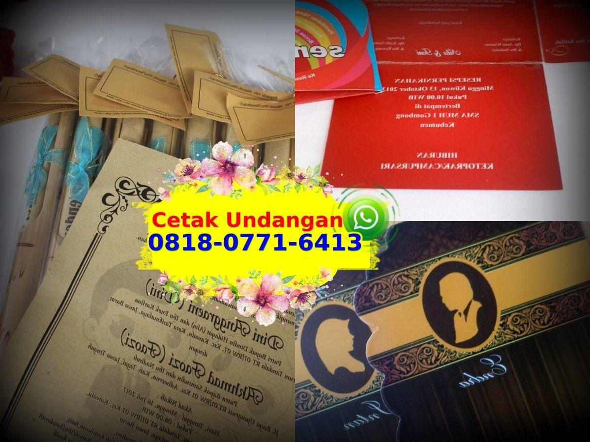 Cetak Undangan Pernikahan Jepara 0818 0771 6413 Whatsapp