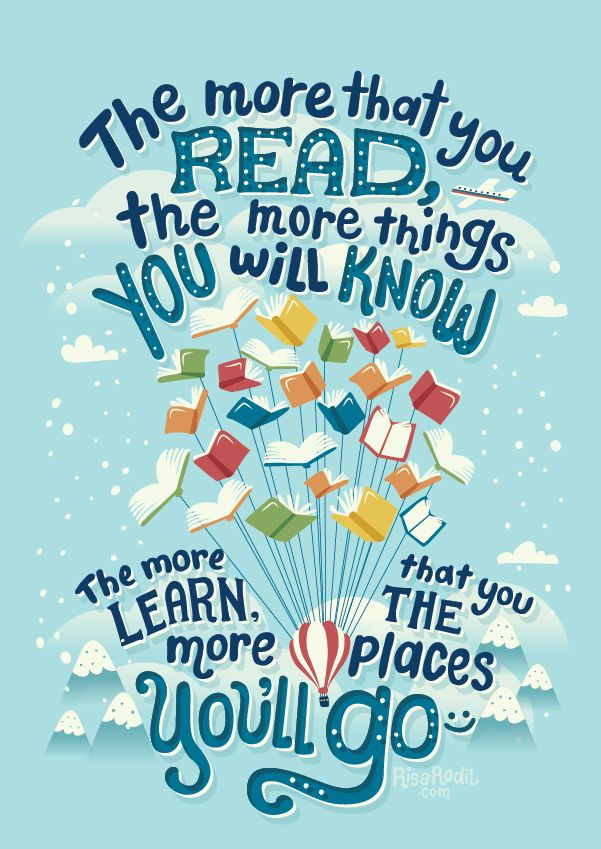 Illustrated bookish quotes | Paroles inspirantes, Idée lecture ...
