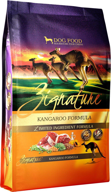 Zignature kangaroo limited ingredient formula grainfree