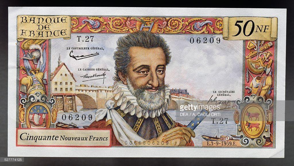 PHOTO MAGNET  Cornielle 100 francs 1977