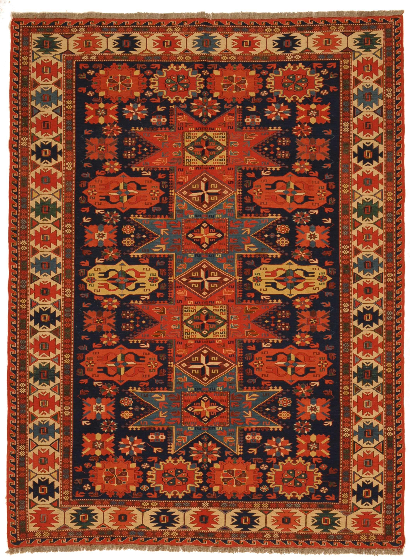 Ersari Sumakh Herkunft Afghanistan Lange 255 Breite 189 Naturfarben Teppich Turkische Symbole