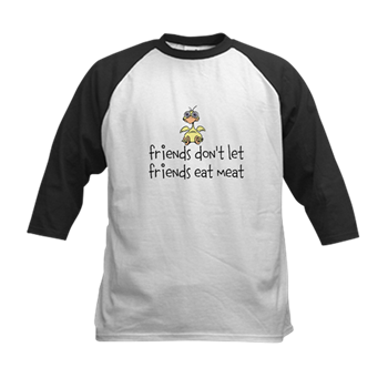 FRIENDS DON'T LET FRIENDS EAT MEAT - Choose this Design on Several Products