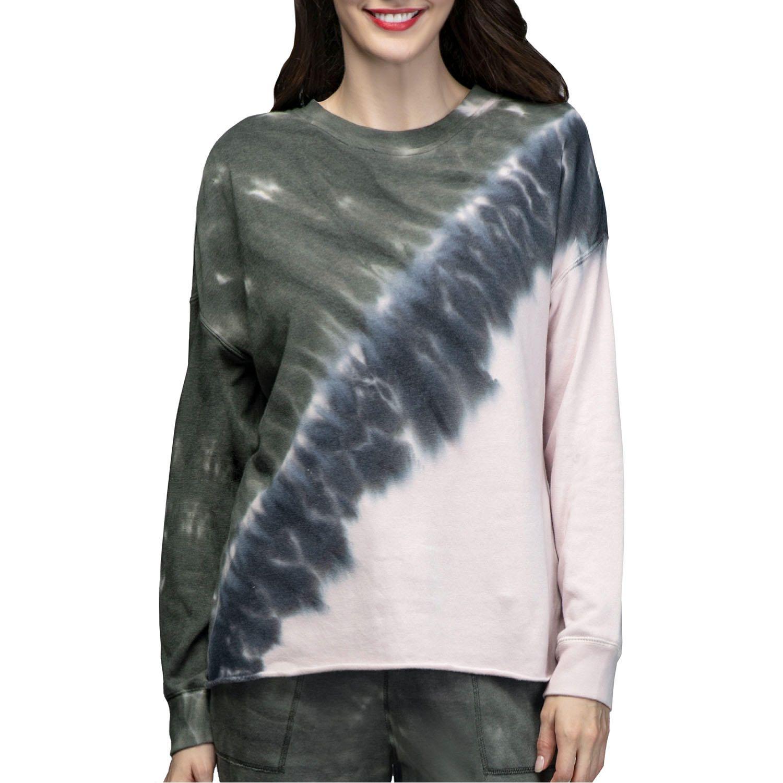 Green Tea Women S Tie Dye Sweatshirt Sam S Club Tie Dye Sweatshirt Womens Tie Long Sleeve Tshirt Men [ 1500 x 1500 Pixel ]