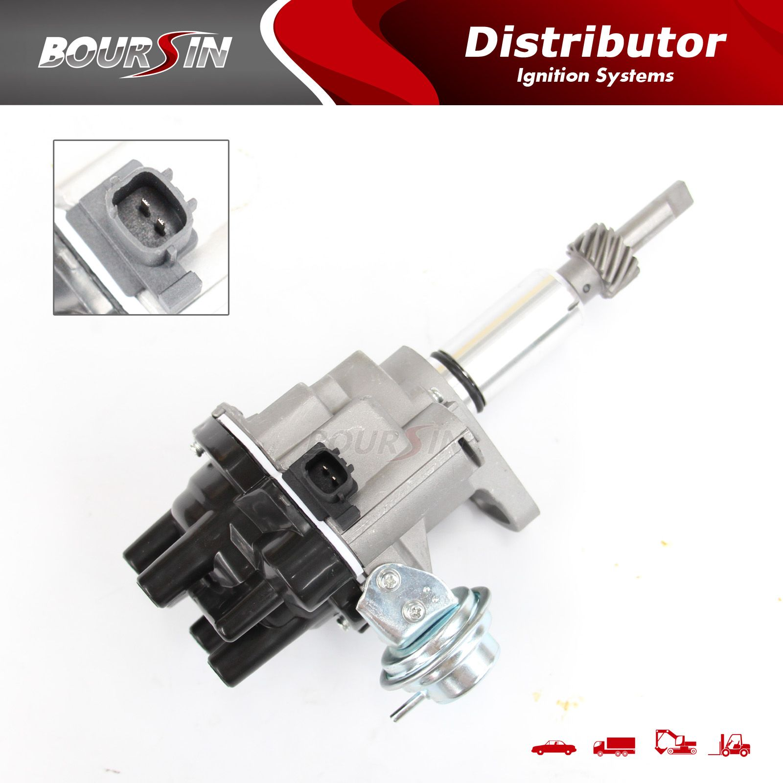 Electronic Ignition Distributor Assy Fit Nissan H202 H25