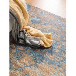 Photo of benuta Trends flat woven carpet Tosca blue / brown 290×400 cm – vintage carpet in Used-Lookbenuta.de