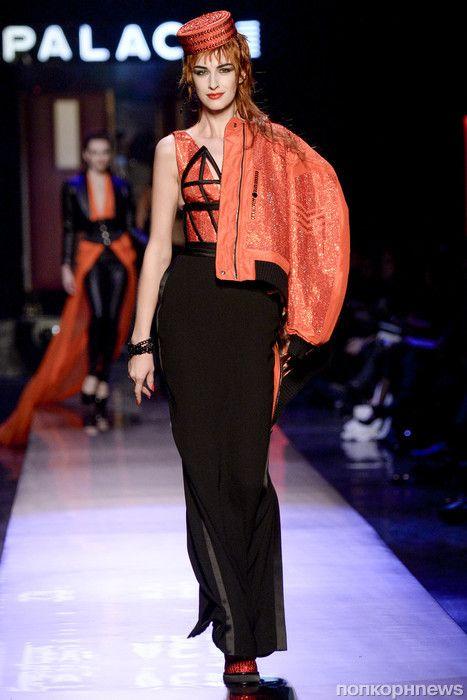 Модный показ новой коллекции Jean Paul Gaultier Couture. Весна   лето 2016 a91ad144ebc
