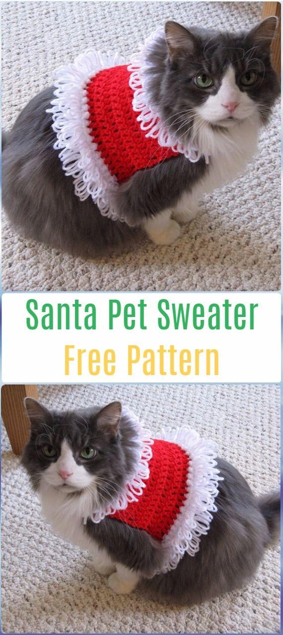 CROCHET SANTA CLAUSE- FREE CROCHET PATTERNS | Free pattern, Santa ...