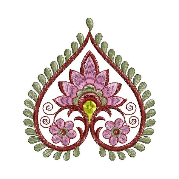 Embroidery Patterns | Indian Embroidery Designs 200 | Needlework ...