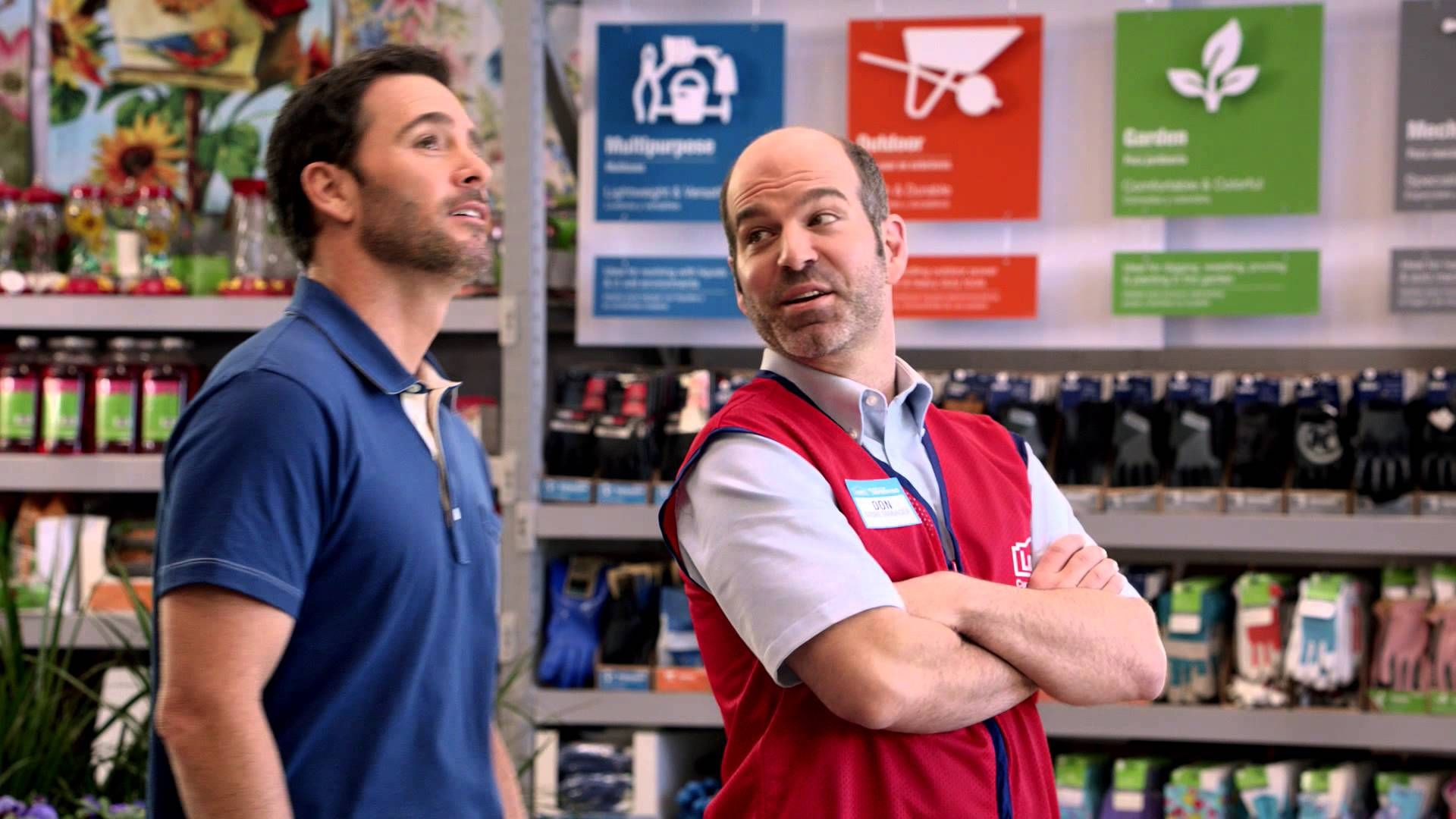 Showing Jimmie Johnson Pride at Lowe's - 2014 Commercial Boom Confetti