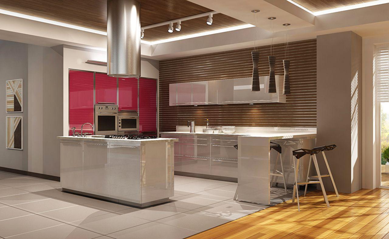 aménagement d'intérieur design cuisine table plafond | القصر الجميل