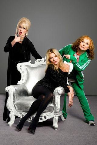 Dream Team Joanna Lumley Kate Moss Film