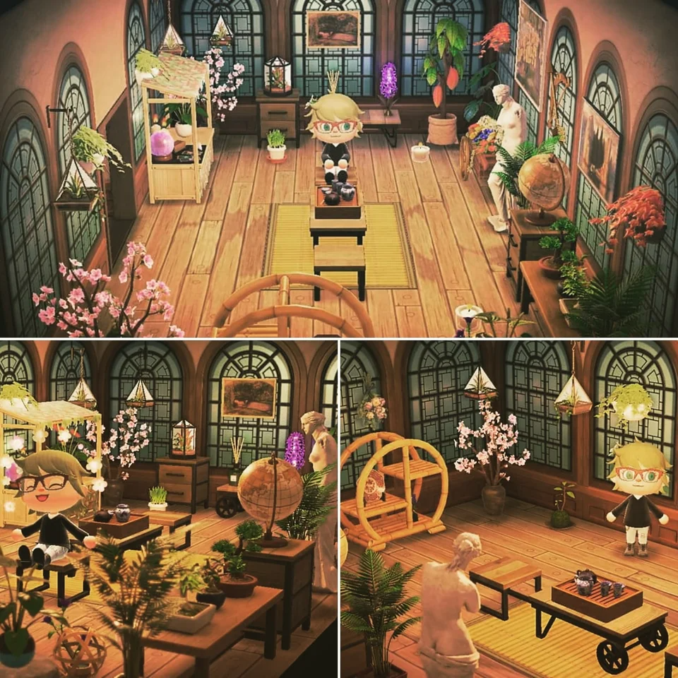 Mostly Finished Greenhouse Favourite Room In House So Far Animalcrossing In 2020 Animal Crossing Animal Crossing Game Animal Crossing Characters