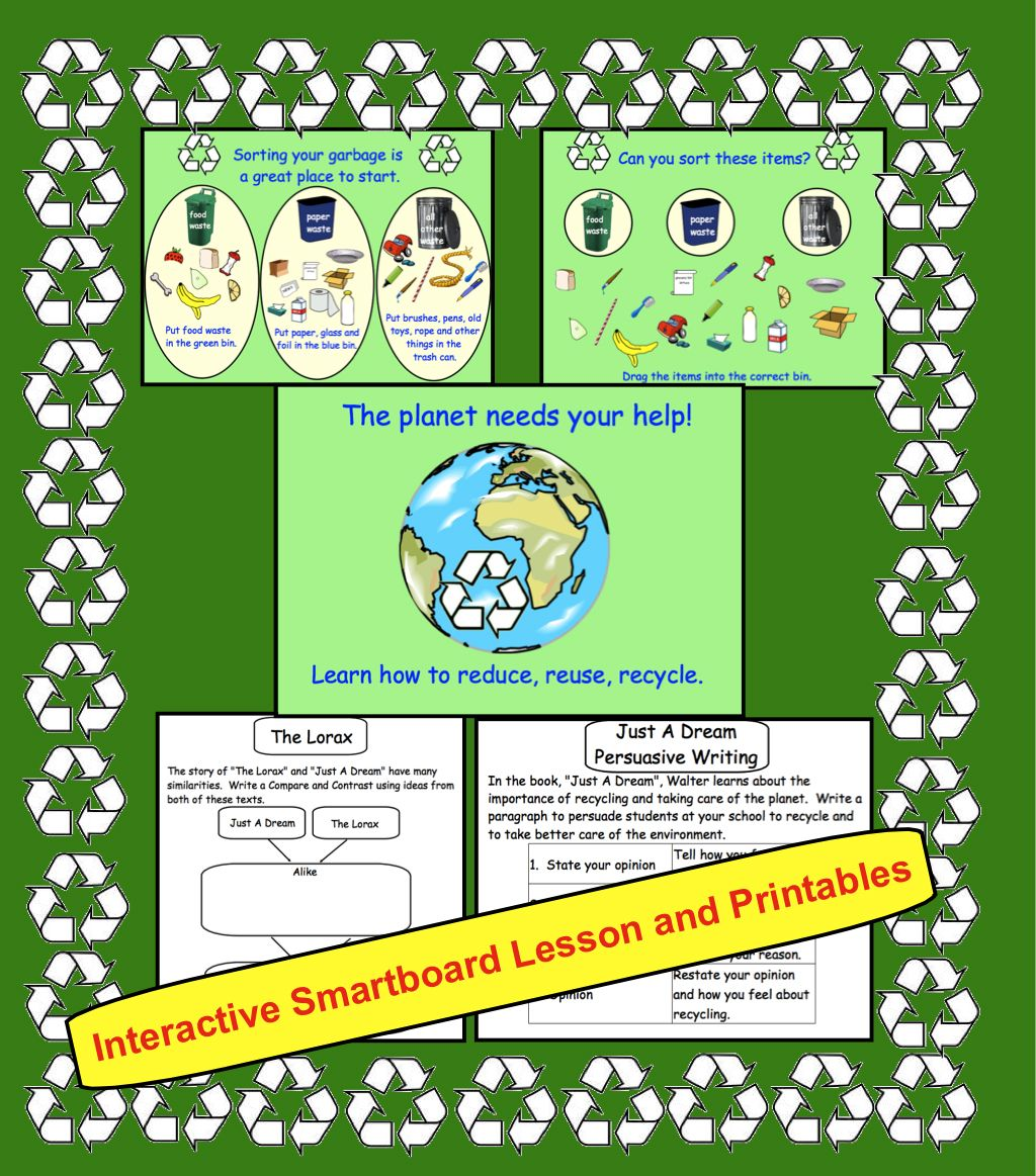 Earth Day Interactive Smartboard Activities For Gr 3 4