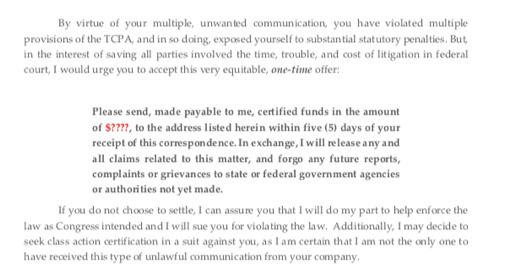 Tcpa Demand Letter Template from i.pinimg.com