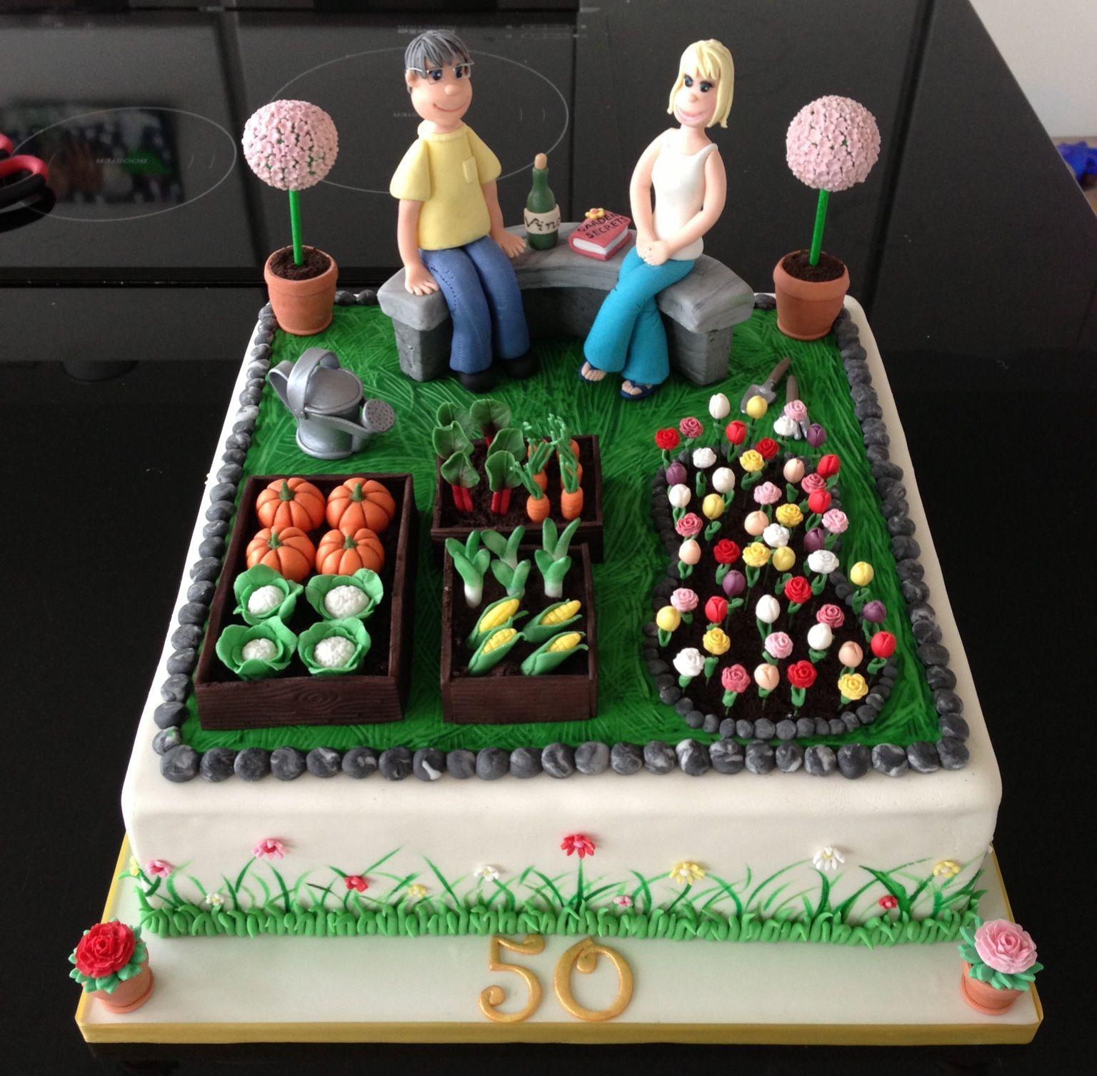 gardening cake garden cake garten torte pinterest. Black Bedroom Furniture Sets. Home Design Ideas
