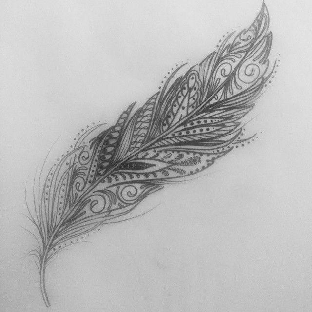 Feather tattoo Tattoo Pinterest Tatuajes, Tatuaje de pluma y Pluma - tatuajes de plumas