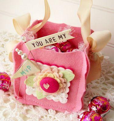 Felt Candy Box