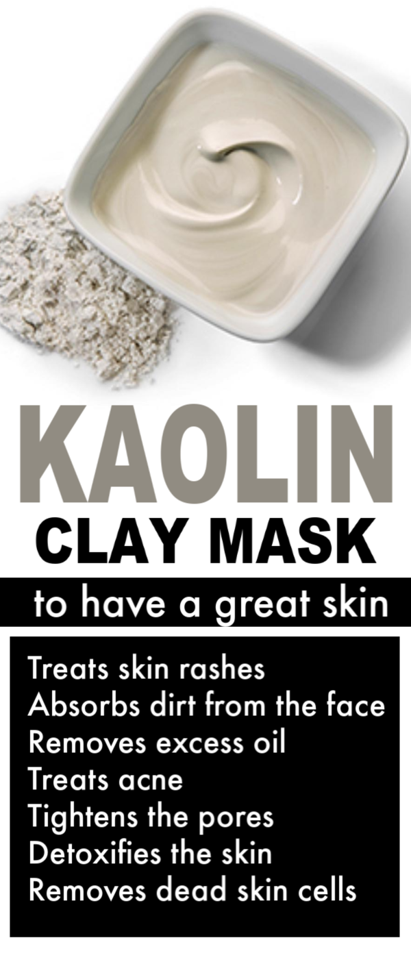 Kaolin Clay Mask Skincare Facemask Kaolinclay Skinpores Acne Kaolin Clay Mask Clay Masks Kaolin Clay