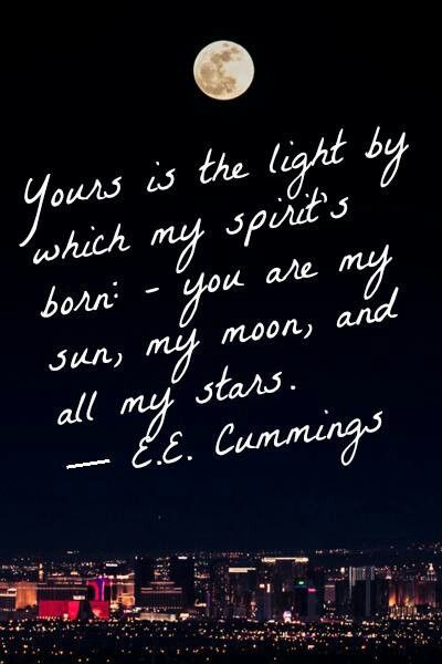 Sun Moon Stars Quotes Quotes Love Quotes Words