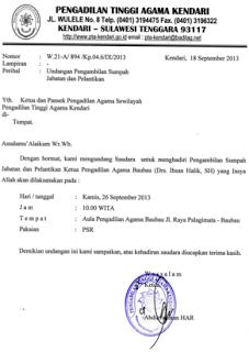 Menulis Surat Dinas Bahasa Indonesia Ya In 2019
