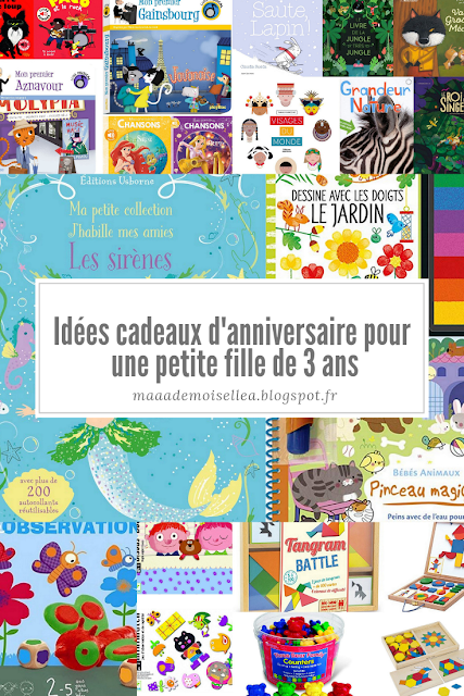 Idées cadeaux d'anniversaire pour une petite fille de 3 ans | Cadeau anniversaire, Idee cadeau ...