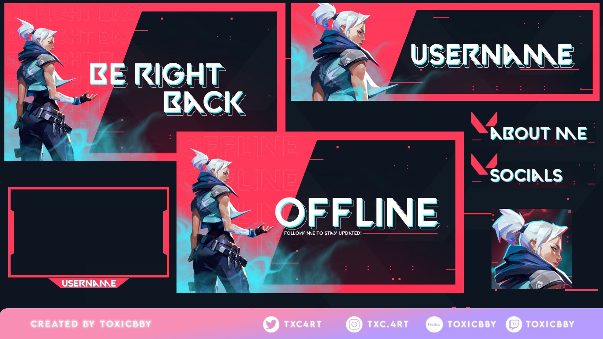 Free Valorant Overlays Overlays Gaming Wallpapers Game Logo Design