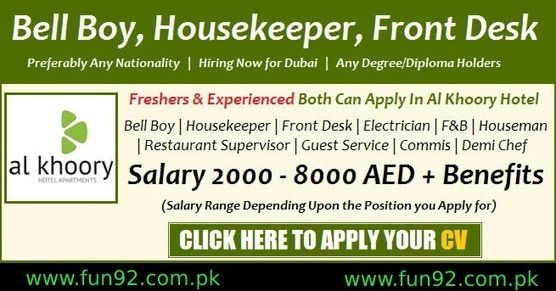 Al Ky Hotel Jobs In Dubai 2018 Latest Vacancy And Recruitment Agencies
