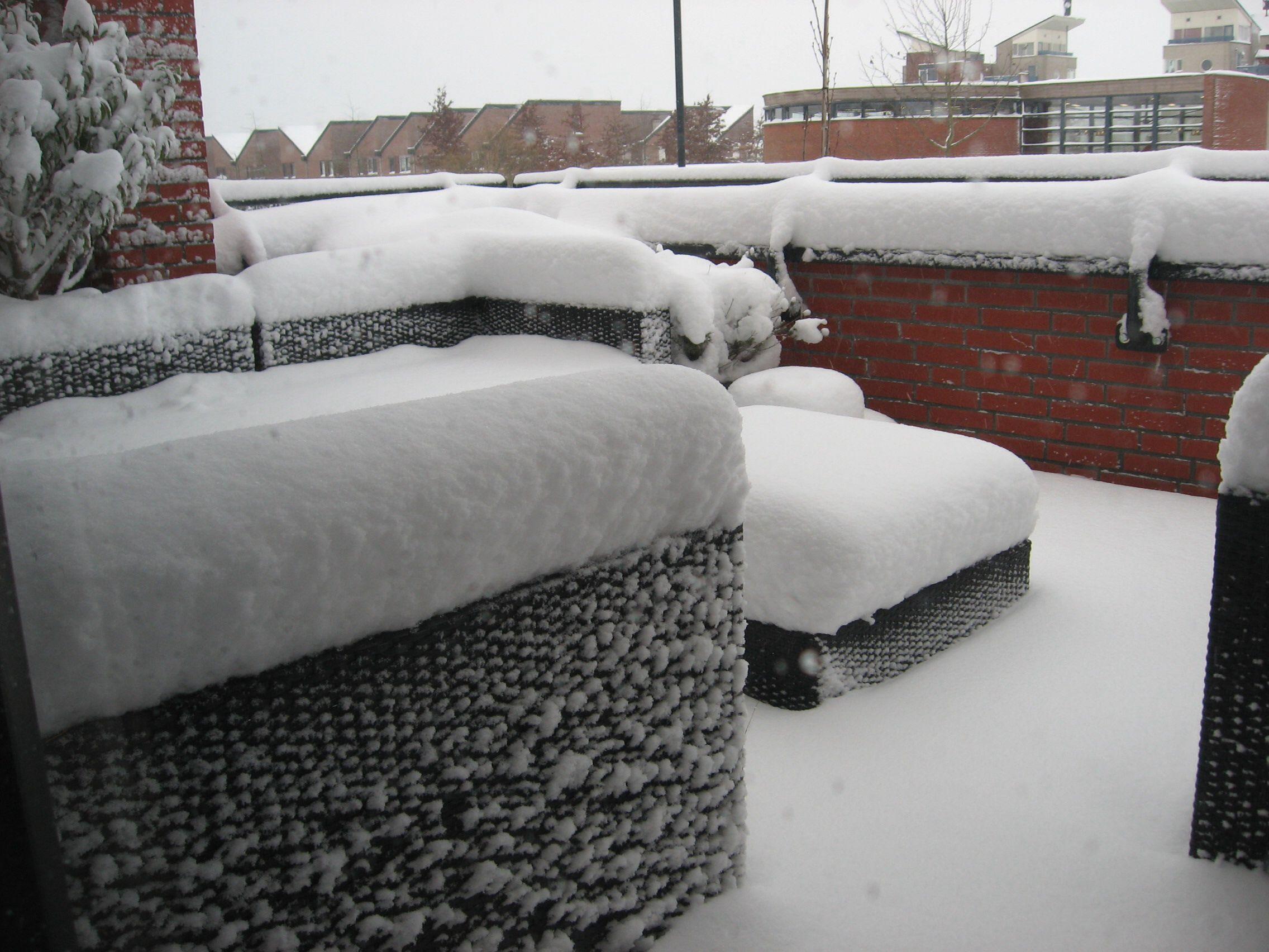 Heel veel sneeuw
