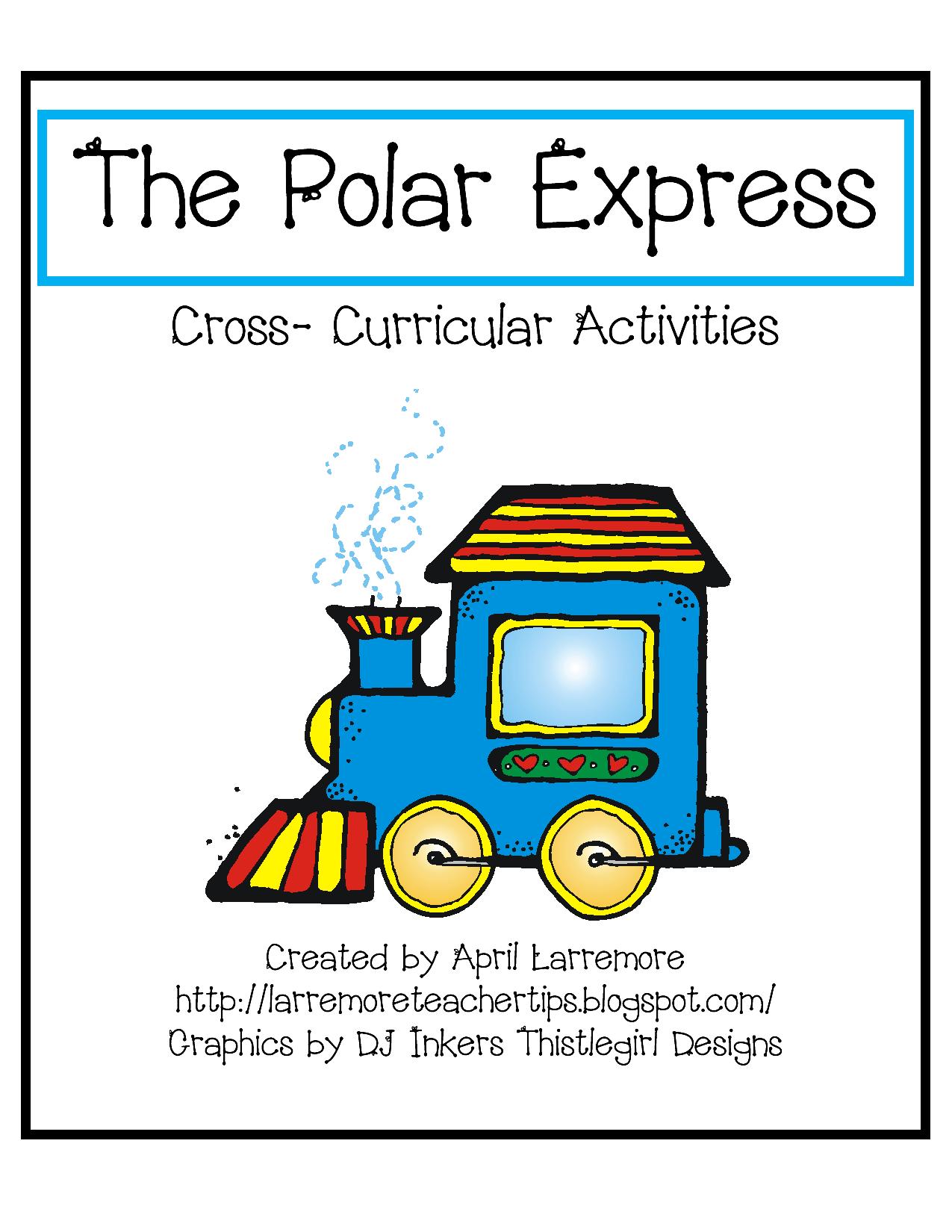 Chalk Talk A Kindergarten Blog Polar Express Unit