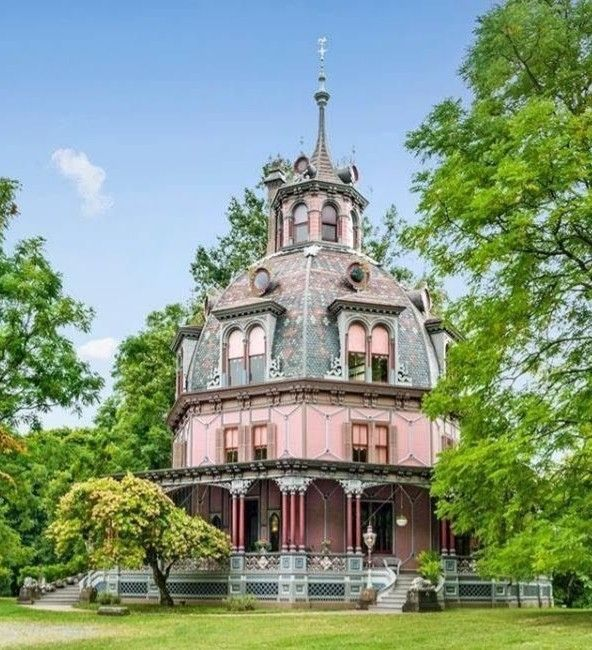 1860 Armour-Stiner Octagon House In 2020