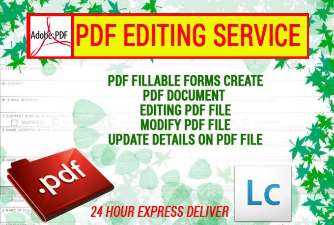 edit,create PDF Files or Form by isgrafix freelance Pinterest