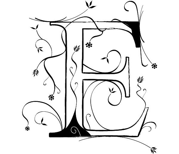 The Letter E by wasteddime on deviantART